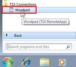 TSX RemoteApp - Thinstuff